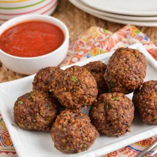 Syn Free Beef Quinoa Bites
