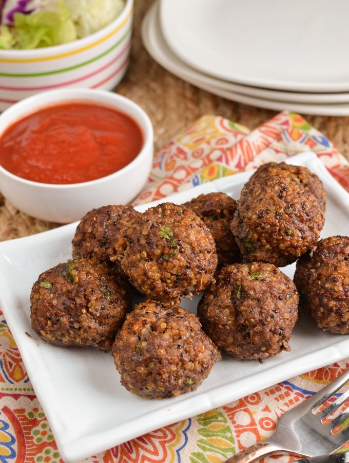 Syn Free Beef Quinoa Bites