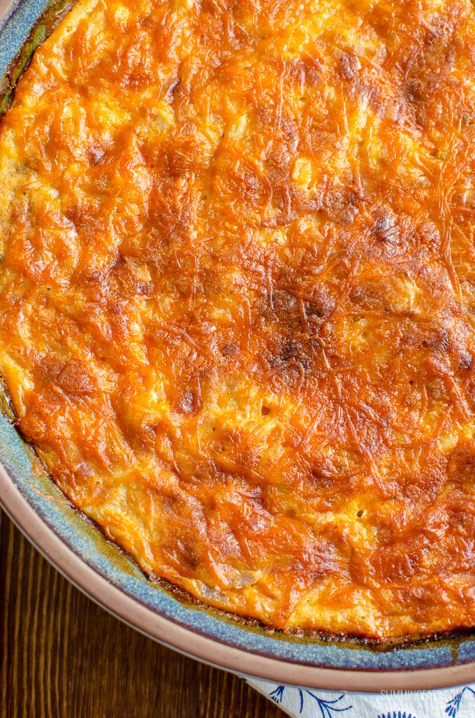 Bacon Leek and Sweet Potato Quiche | Slimming World