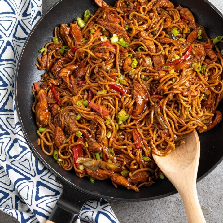 Hoisin Chicken with Noodles