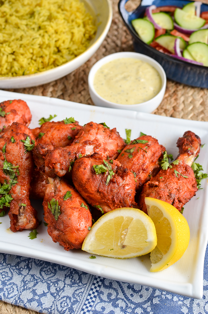 Slimming Eats Syn Free Tandoori Chicken - gluten free, Indian fakeaway, Slimming World and Weight Watchers friendly
