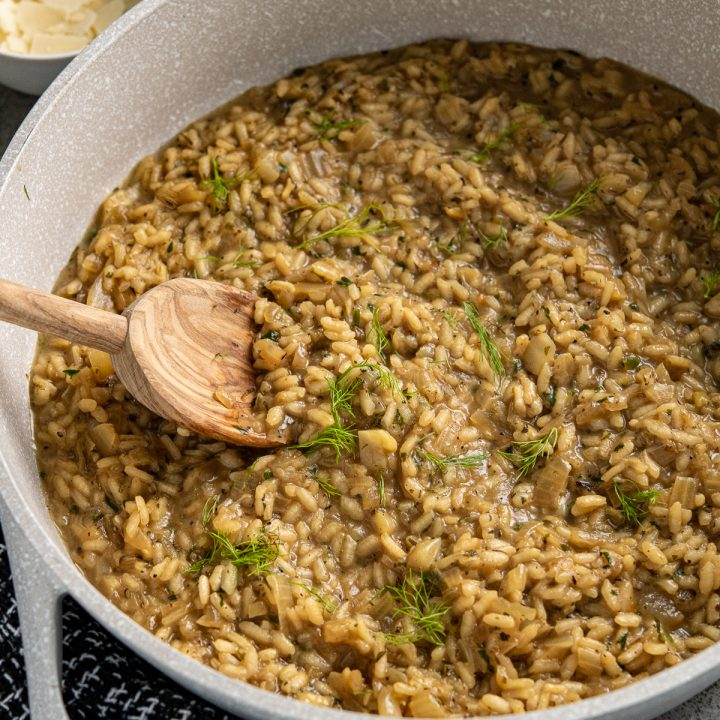 Fennel and Sweet Onion Risotto