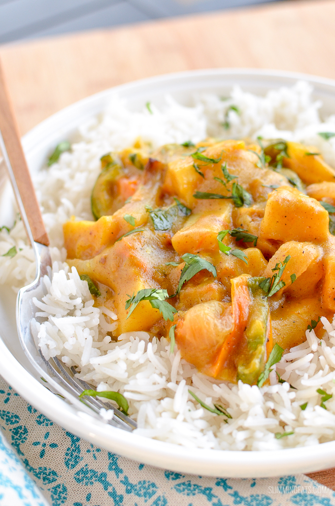 Syn Free Quick Leftovers Curry - The perfect recipe for using up any leftover vegetables. | gluten free, dairy free, vegan, Slimming World and Weight Watchers friendly