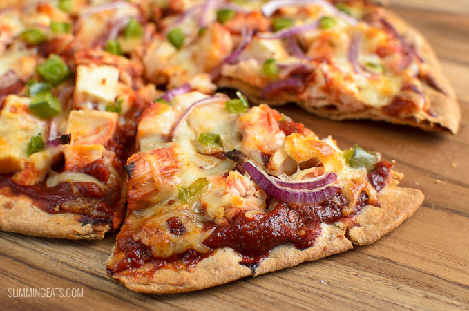 Syn Free BBQ Chicken Pizza | Slimming Eats - Slimming ...