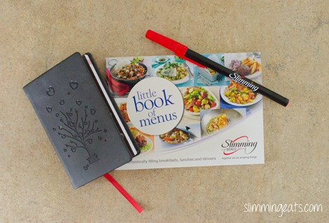 Slimming World USA – Little Book of Menus
