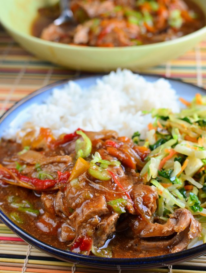 Slow Cooked Chinese Style Pork Tenderloin