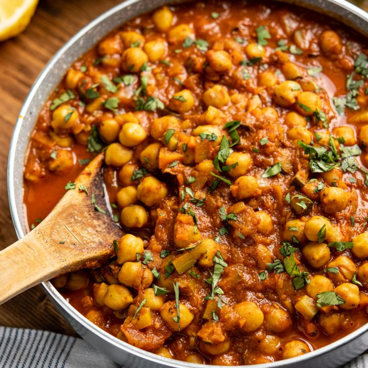 Chana Masala (Instant Pot or Stovetop)