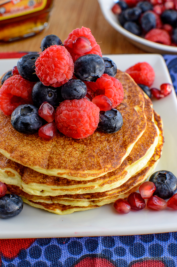 Low Syn Cottage Cheese Pancakes | Slimming World
