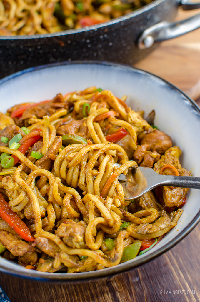 Syn Free Chicken Singapore Noodles Slimming World Slimming Eats Weight Watchers And