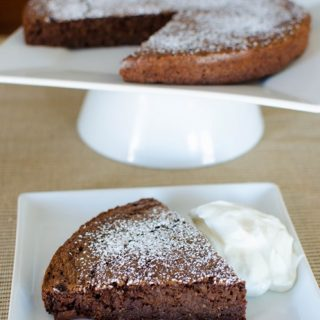 Chocolate Scan Bran Cake