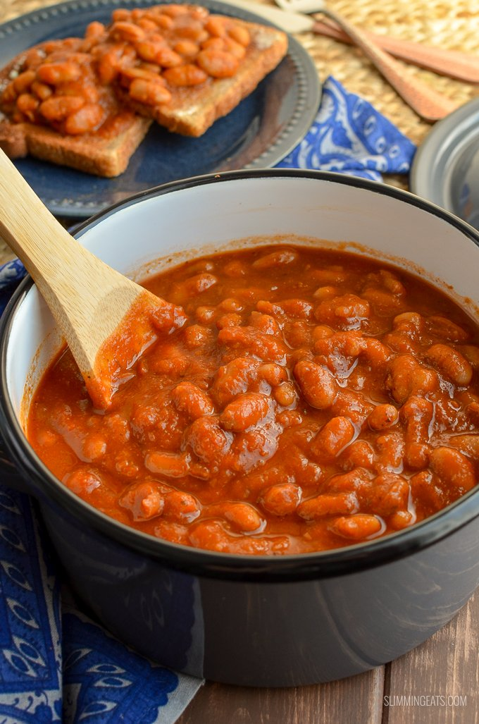 Syn Free No Added Sugar Baked Beans Slimming World