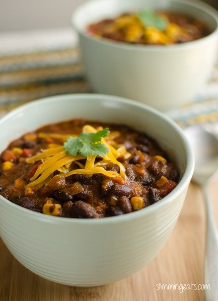 Southwestern Black Bean Soup - grain free, slimming world or weight watchers friendly