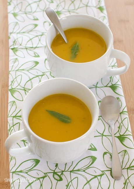 Butternut Squash Soup - Dairy Free, Gluten Free, Slimming World, Weight Watchers, Paleo and Whole30 friendly