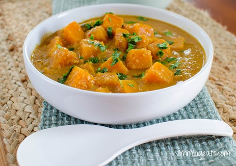 Slimming Eats Malaysian Butternut Squash Curry - gluten free, dairy free, paleo, Slimming World (SP) and Weight Watchers friendly