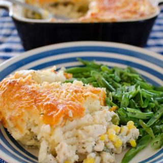 Cheesy Topped Fish Pie