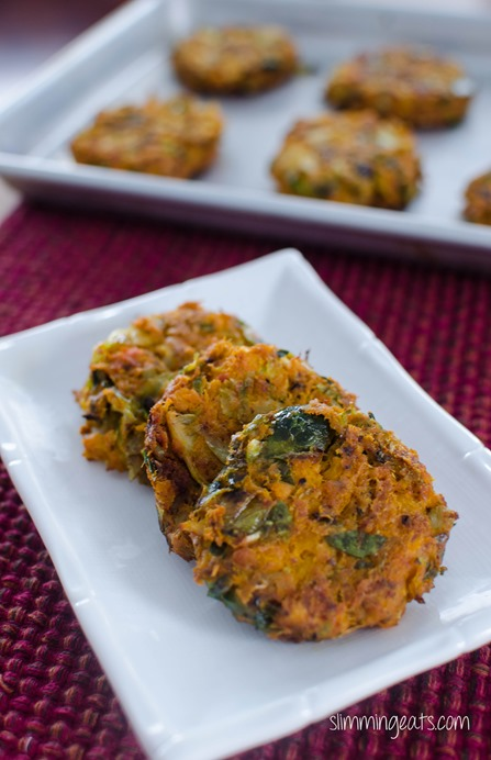 Salmon, Brussels and Squash Patties