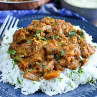 Syn Free Chicken and Eggplant Curry