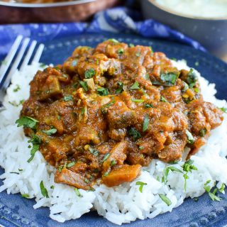 Chicken and Eggplant Curry