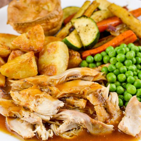 Slow Cooked Chicken (Crockpot)