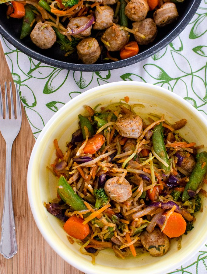 Spicy Sausage and Veggies