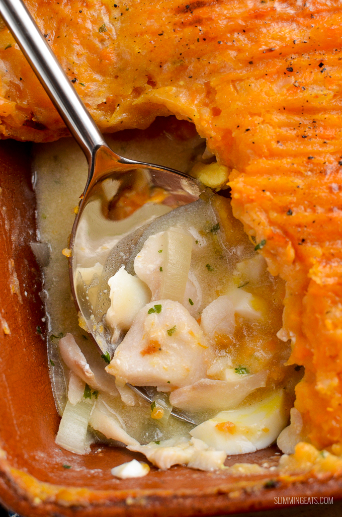 Low Syn Dairy Free Fish Pie | Slimming Eats - Weight ...