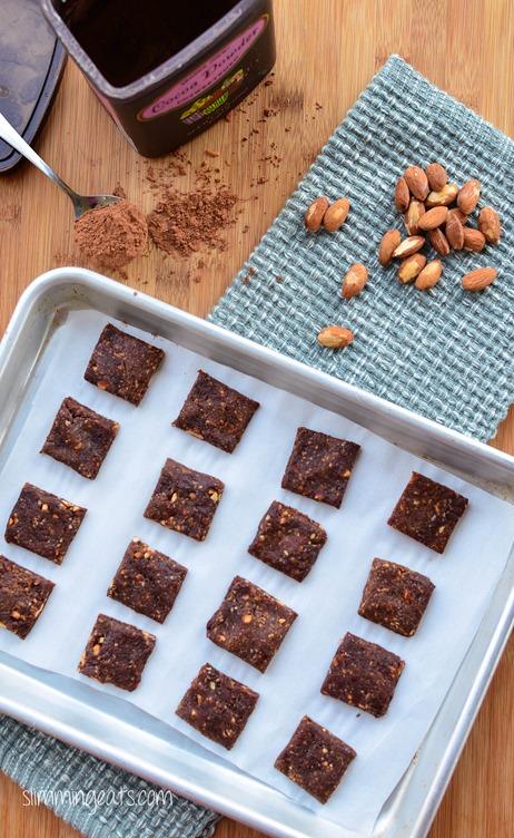 Slimming Eats Healthy Extra Chocolate Orange Bites - gluten free, dairy free, sugar free, whole30, paleo, vegetarian, Slimming World (SP) and Weight Watchers friendly