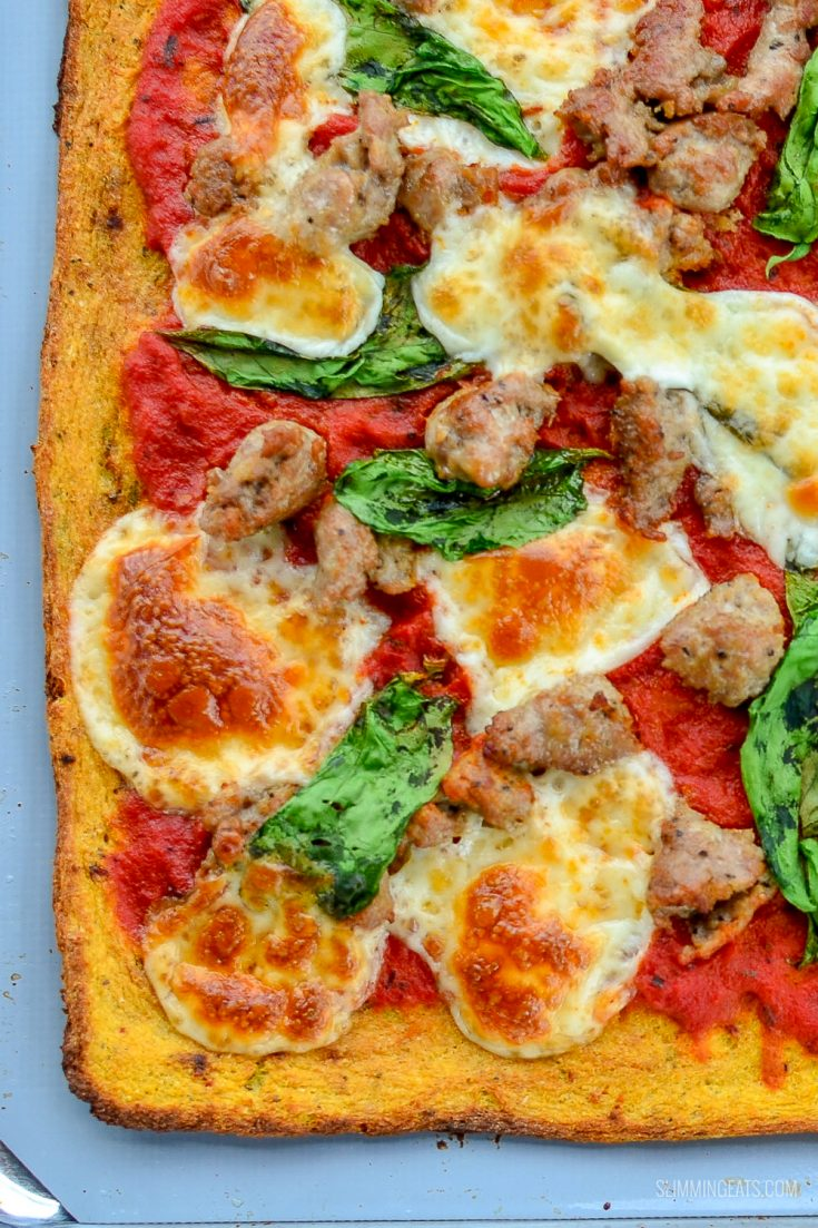 Syn Free Cauliflower Pizza