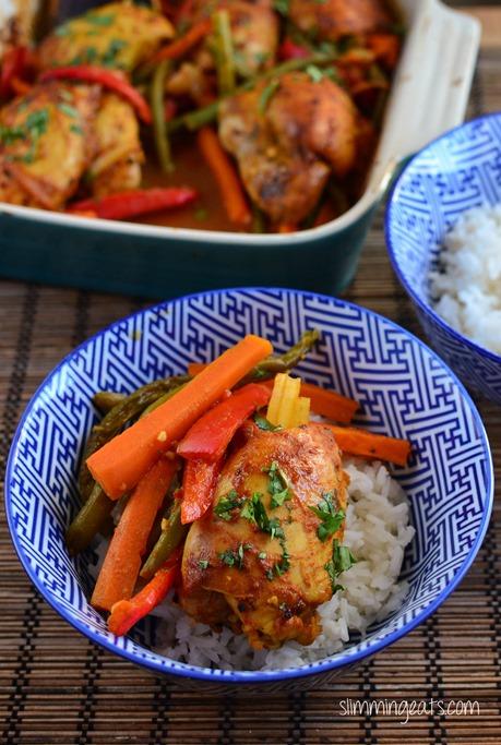 Fusion Chicken - Gluten Free, Dairy Free, Slimming World and Weight Watchers Friendly