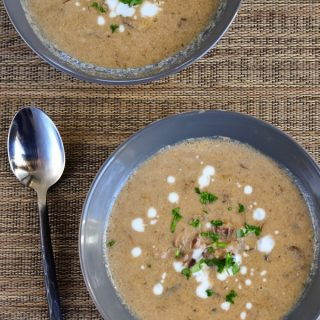 Low Syn Creamy Mushroom Soup