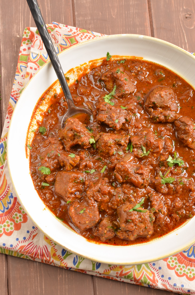 Lamb Rogan Josh | Slimming Eats - Slimming World Recipes