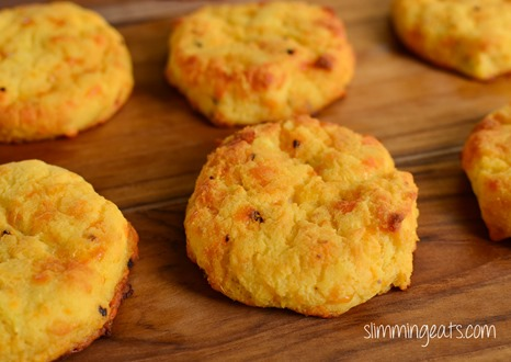 Slimming Eats Sweet Potato Cheddar Scones - gluten free, paleo, slimming world and weight watchers friendly