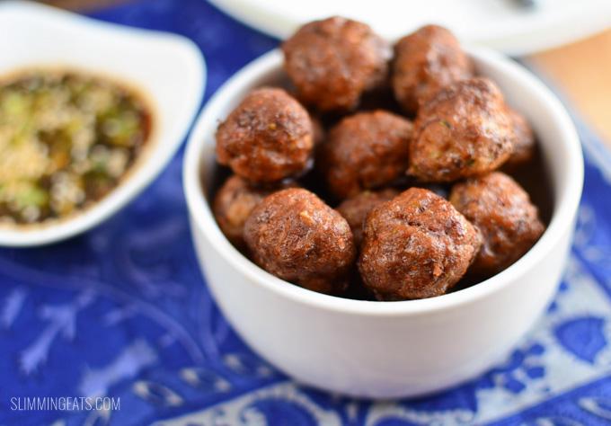 Slimming Eats Hidden Vegetable Beef Meatballs - gluten free, dairy free, paleo, Slimming World and Weight Watchers friendly