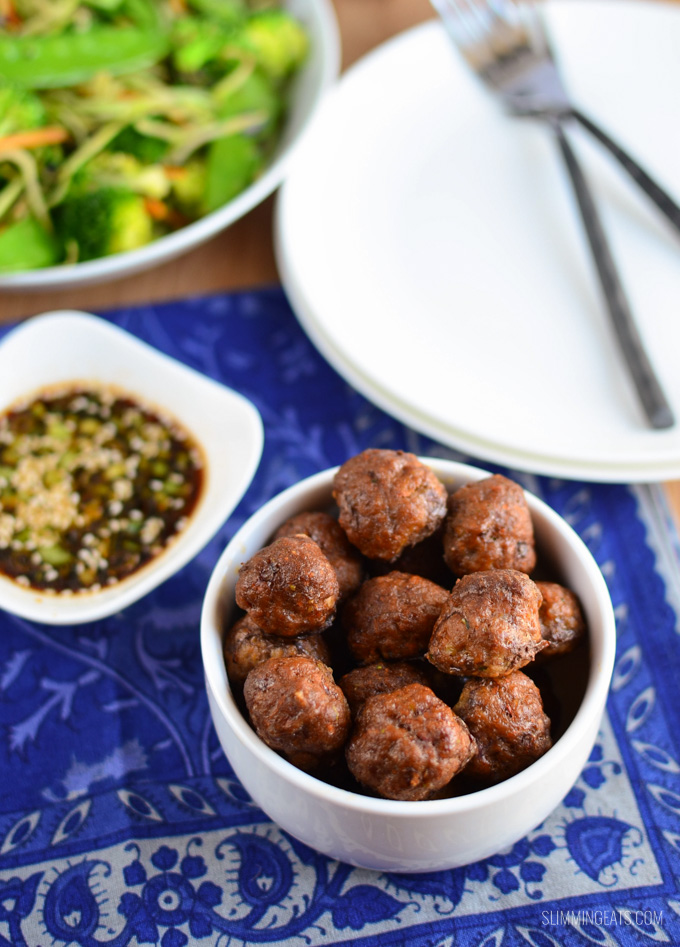 Slimming Eats Hidden Vegetable Beef Meatballs - gluten free, dairy free, paleo, Slimming World and Weight Watchers friendly