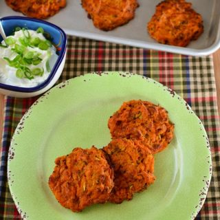 Cheesy Potato and Vegetable Fritters