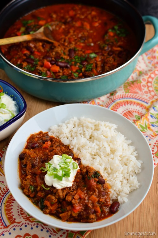 Chilli Con Carne | Slimming Eats - Slimming World Recipes