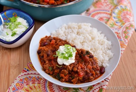Chilli Con Carne | Slimming Eats - Slimming World Recipes