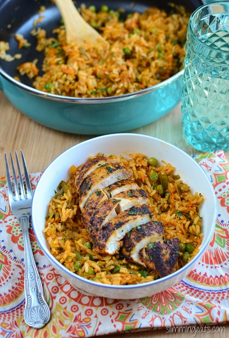 Spanish Chicken and Rice - Delicious Slimming World ...