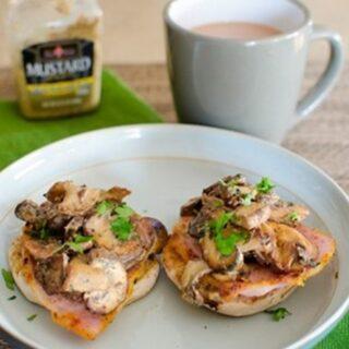 Garlic Mushrooms with Bacon