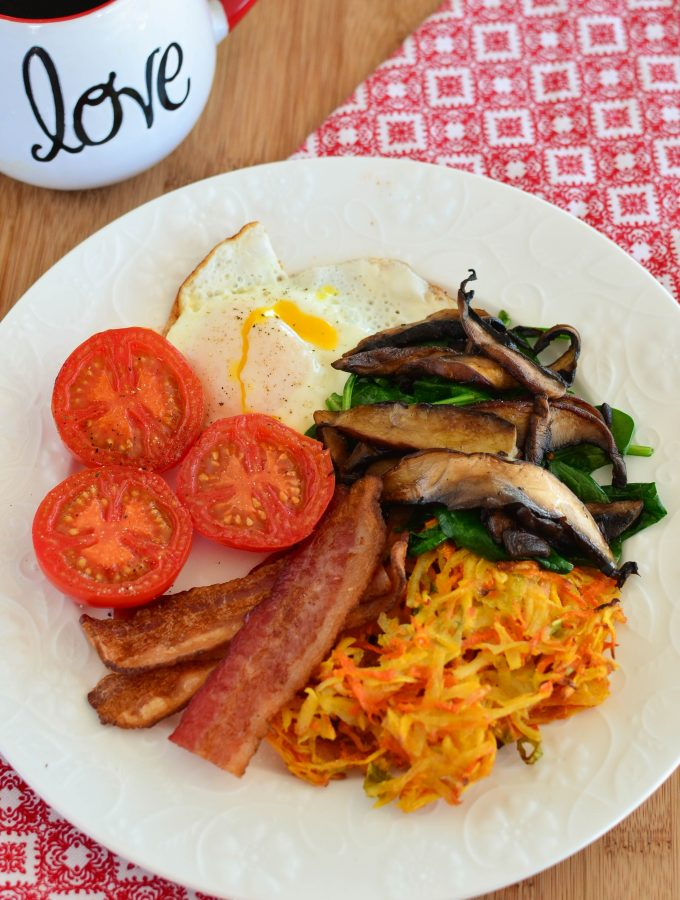 Carrot, Parsnip and Potato Hash