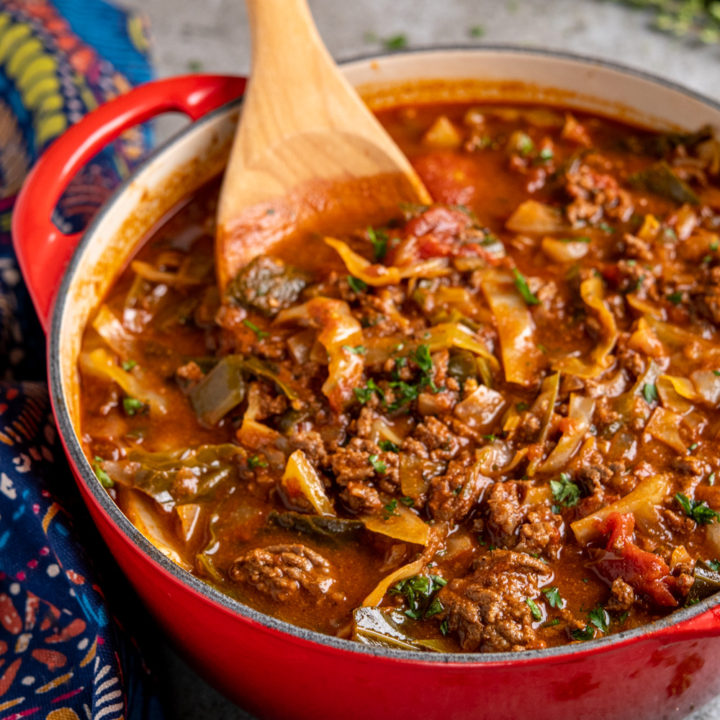 Syn Free Beef and Cabbage Soup