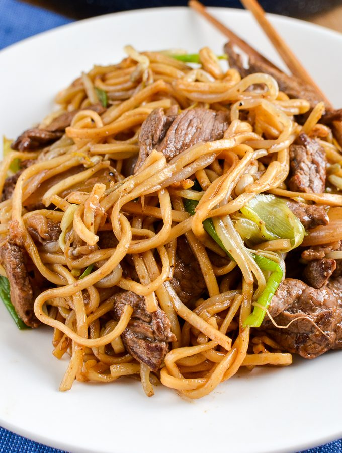 Low Syn Beef Chow Mein