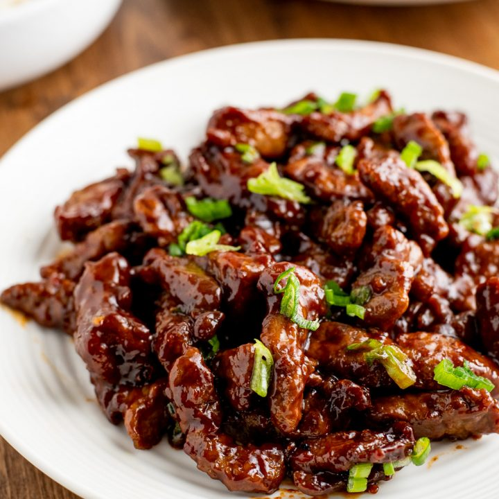 Sweet Chilli Beef (Stove Top and Actifry)