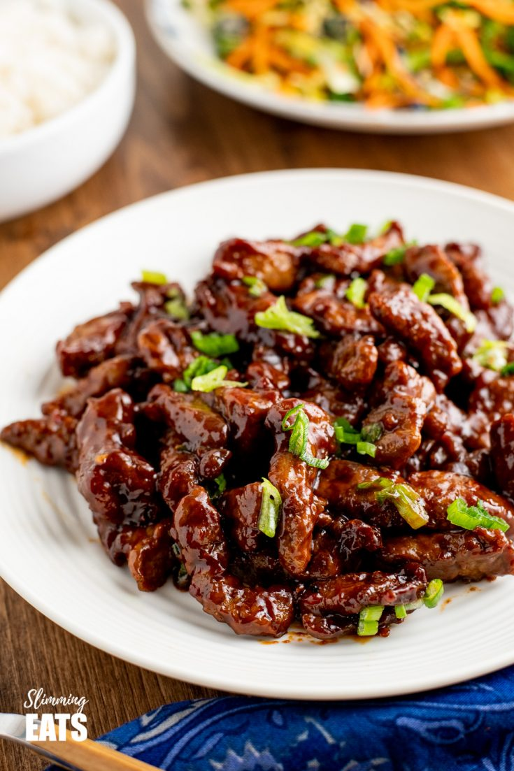 Low Syn Sweet Chilli Beef (Stove Top and Actifry)
