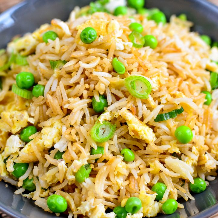 The Best Low Syn Egg Fried Rice