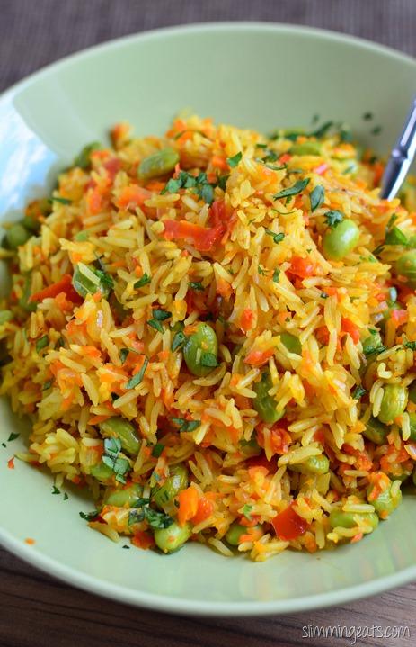 Edamame and Vegetable Pilaf