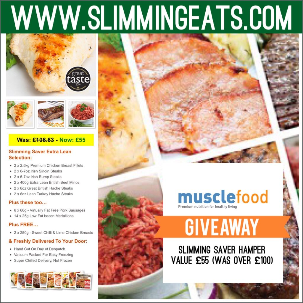 Musclefood uk giveaway slimming eats slimming world recipes slimming eats musclefood uk slimming saver giveaway worth 55 was over 100 forumfinder Image collections
