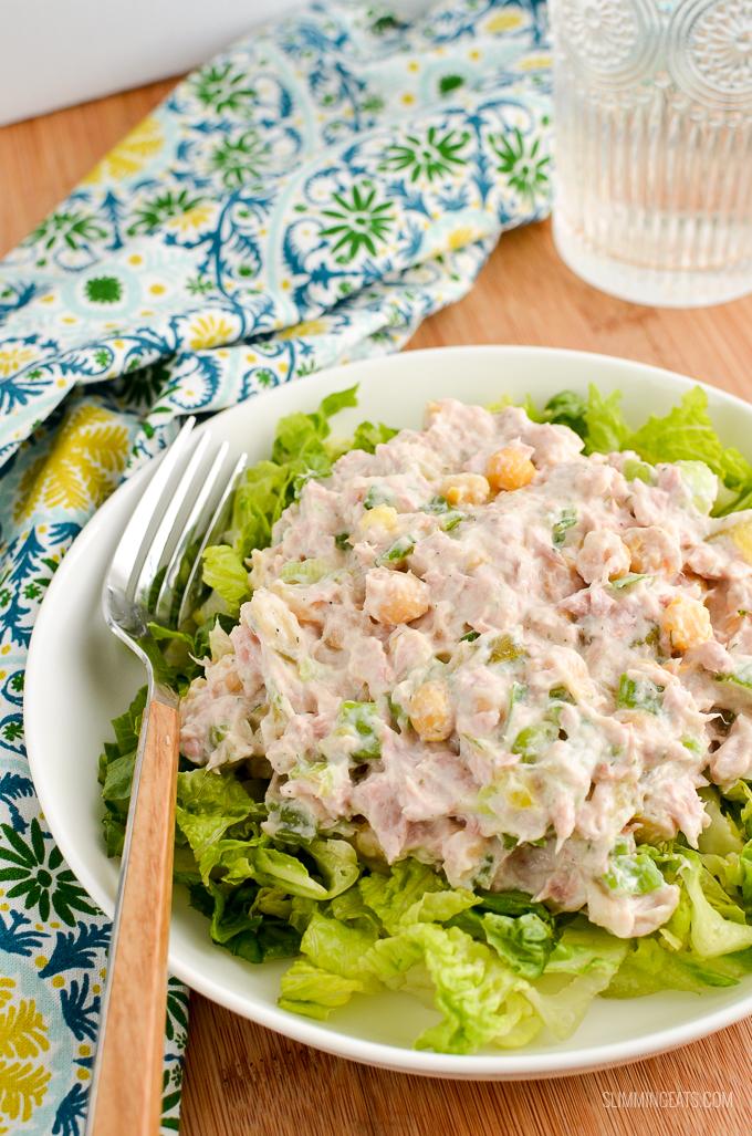 Low Syn Tuna Mayo Salad Slimming Eats Slimming World