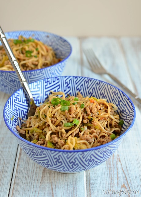 Hoisin Pork and Noodles