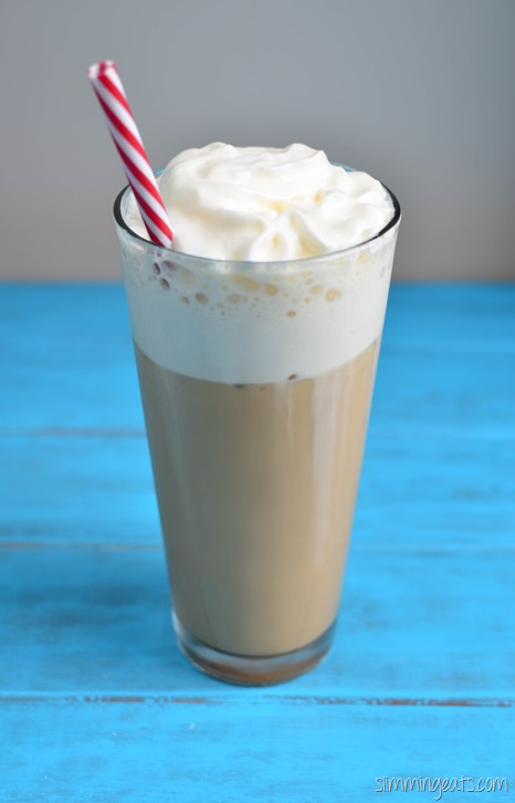 Slimming Eats Low Syn Frappucino - dairy free, gluten free, vegetarian, Slimming World (SP) and Weight Watchers friendly