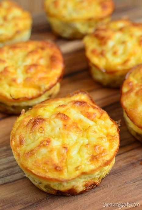 Slimming Eats Tuna and Sweet Corn Mini Quiches - gluten free, Slimming World and Weight Watchers friendly